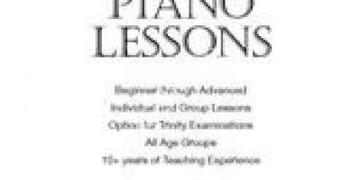 Joseph Piano Lessons